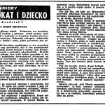 Edigey Jerzy - Adwokat i dziecko
