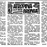 Edigey Jerzy - Atropina jest moją bronią