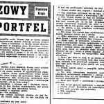 Krupa Stanisław - Brązowy portfel