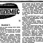 Zeydler-Zborowski Zygmunt - Cudzoziemiec
