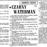 Czech Henryk (Sekuła Helena) - Czarny Waterman