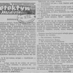 Zeydler-Zborowski Zygmunt - Detektyw z Mediolanu