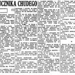 Wołowski Jacek - Kariera porucznika Chudego