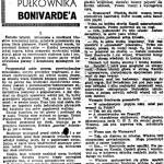 Korkozowicz Kazimierz - Koguty pułkownika Bonivarde'a