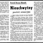 Henelt Paweł Borys - Nieuchwytny