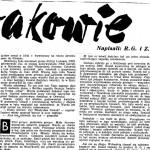 Gontarz Ryszard, Szeliga Zygmunt (R.G. i Z.S.) - Nowakowie