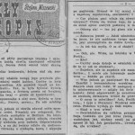 Miszewski Stefan - Pożółkły rękopis