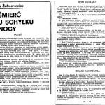 Żołnierowicz Tadeusz - Śmierć u schyłku nocy