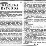 Korkozowicz Kazimierz - Straszliwa przygoda
