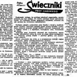 Miszewski Stefan - Świeczniki prof. Łarskiego