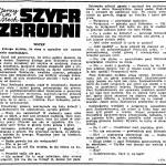 Mech Jerzy M. - Szyfr zbrodni
