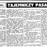Kłodzińska Anna - Tajemniczy pasażer