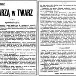 Żołnierowicz Tadeusz - Twarzą w twarz
