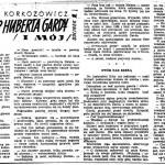 Korkozowicz Kazimierz - Urlop Huberta Gardy