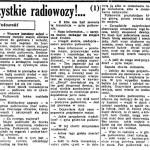 Wołowski Jacek - Uwaga, wszystkie radiowozy!