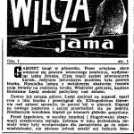 Michałowski Roman - Wilcza jama