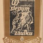 Sztaba Zygmunt - W ślepym zaułku